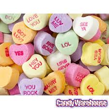 hearts candy brach s tiny conversation hearts candy 33 ounce bag