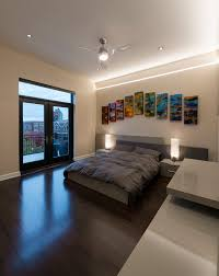 decor modern bedroom design with minka aire fans also wall decor