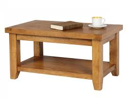 End Table With Shelves by Country Oak Coffee Table With Shelf