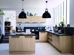 cuisine et bois cuisine bois et noir aclement de cuisine cuisine bois et noir