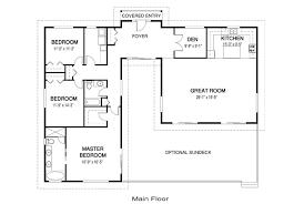unique house plans with open floor plans open concept floor plans faun design