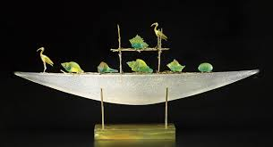 art glass sculptures from north american artists artful home