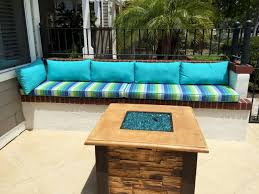 Outdoor Cushions Outdoor Cushions For Bench Seating Abc About Exterior Furnitures