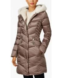 laundry by shelli segal amazing deal on laundry by shelli segal faux fur trim coat