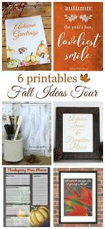 free fall printable with watercolor pumpkins house of hawthornes