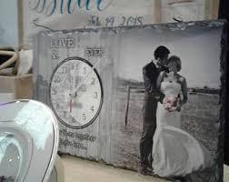 Personalized Wedding Clocks Custom Clock Etsy