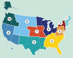fema region map program map ready gov