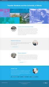 website homepage design illinois transfer website u2014 beverly kudeki design