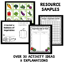 vegetable activities for kids