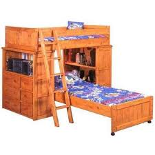 bunkhouse twin desk hutch loft bunk 4740 loftd s afw