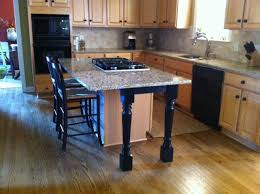 how to make an kitchen island kitchen island support legs and skirt make a beautiful difference