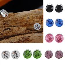 magnetic stud earrings aliexpress buy no piercing magnetic stud earrings
