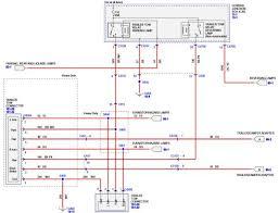 standard ford trailer wiring diagram ford keyless entry diagram