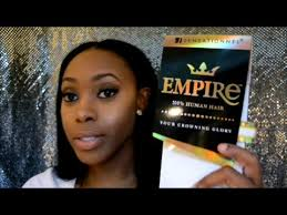 empire tv show hair styles fall hair sensationnel empire hair ebonyline com youtube