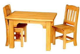 cypress kids table and chairs set 5052 from bradley brand furniture