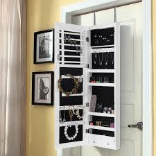 wall mirror jewelry cabinet mirror jewelry box wall mount jukem home design