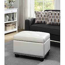 gray storage ottomans with free shipping kmart