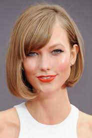 shorter hairstyles with side bangs and an angle 35 awesome bob haircuts with bangs makes you truly stylish