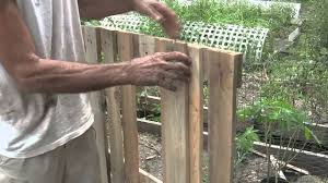 The Proper Way To Make A Bed How To Build A Raised Bed Garden Using Pallets Youtube