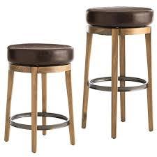 swivel leather bar stools with back s adjustable swivel bar stools