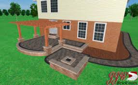 Firepit Brick Brick Pit And Patio Rochester Mi