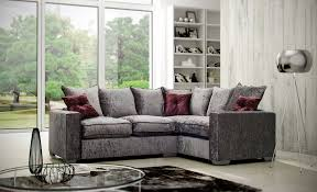 Grey Silver Sofa David Gundry Upholstery Large Madrid Knole With Snuggler Sofa And