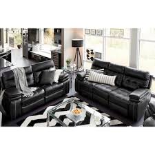 Black Reclining Sofa Brisco Power Reclining Sofa Black American Signature Furniture