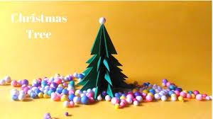 how to make christmas tree diy 3d christmas tree decoration