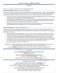 ceo resume template executive resume sles professional resume sles