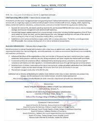 senior executive resume executive resume sles professional resume sles