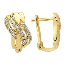 design of gold earrings with design 15 fashion gold earring designs gold earrings designs gold and
