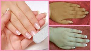salon style manicure at home how to do manicure at home in hindi