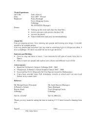 undergraduate resume template college resume examples sample