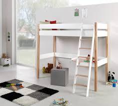 kinder etagenbett mit schreibtisch hochbett modern aus massivholz