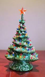 ceramic christmas trees holiday decor 5ahdc fifth avenue designs