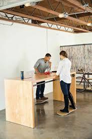 Raised Desk Shelf Best 25 Standing Desks Ideas On Pinterest Standing Desk Height