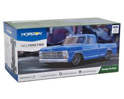 vaterra mustang 1968 ford f100 v100s rtr 1 10 low roller truck by vaterra