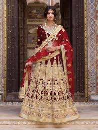 Designer Wedding Dresses Online Buy Designer Indian Wedding Dresses Online Maroon Bridal Ghagra Choli