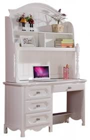 white desk with hutch and drawers homelegance hayley 4 drawer kids desk with hutch in white desks