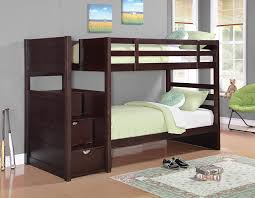 Amazoncom Twin Over Twin Bunk Bed In Cappuccino Finish Kitchen - Vancouver bunk beds