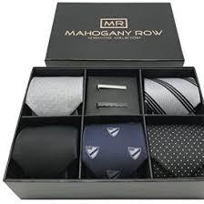 tie box gift 5 luxury mens neckties 2 modern tie bars designer gift box the