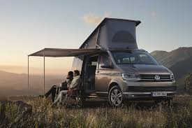 volkswagen hippie van new vw t6 based california camper van unveiled