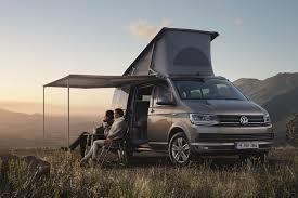 volkswagen hippie van new vw t6 based california camper van unveiled