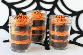 halloween cupcakes in a jar u2013 glorious treats
