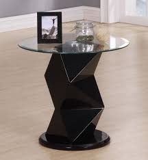 Black Gloss Side Table Remarkable Prism Table Stand Images Inspiration Tikspor