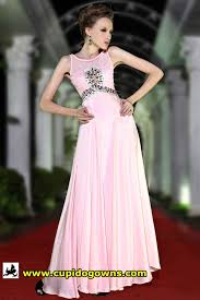 elegant pink evening gown online dinner dress rental cupido gowns