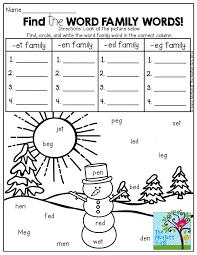 72 best teaching ela word families images on pinterest word