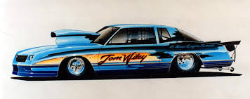 drag racing paint schemes and award winning graphic design