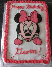 Decorative Cakes Atlanta Minnie Mouse Birthday Cakes Atlanta
