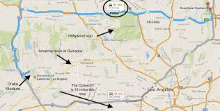 map of ucla los angeles the football town sbnation com